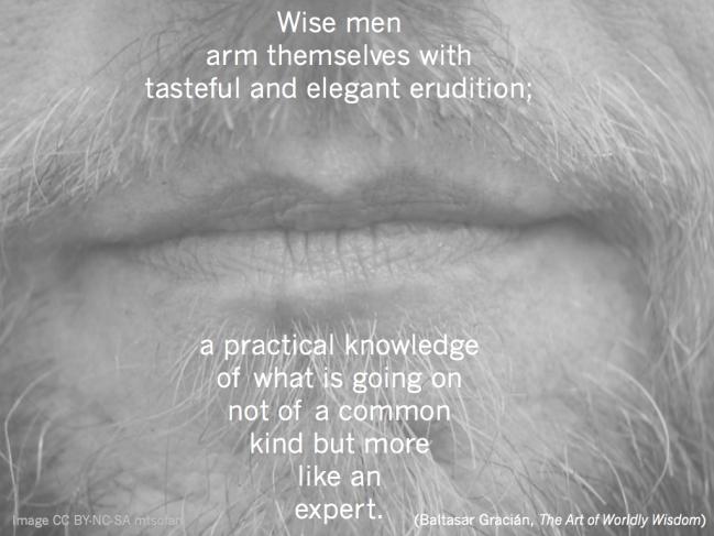 Wednesday Wisdom: Erudition