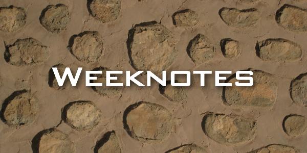 Weeknote 10/2013