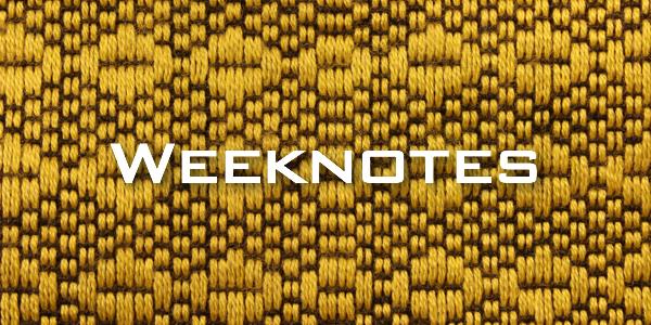 Weeknote 11/2013