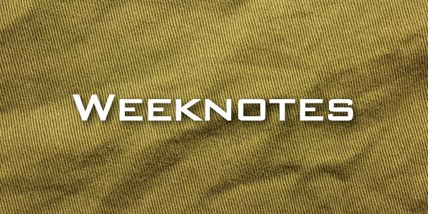 Weeknote 13/2013