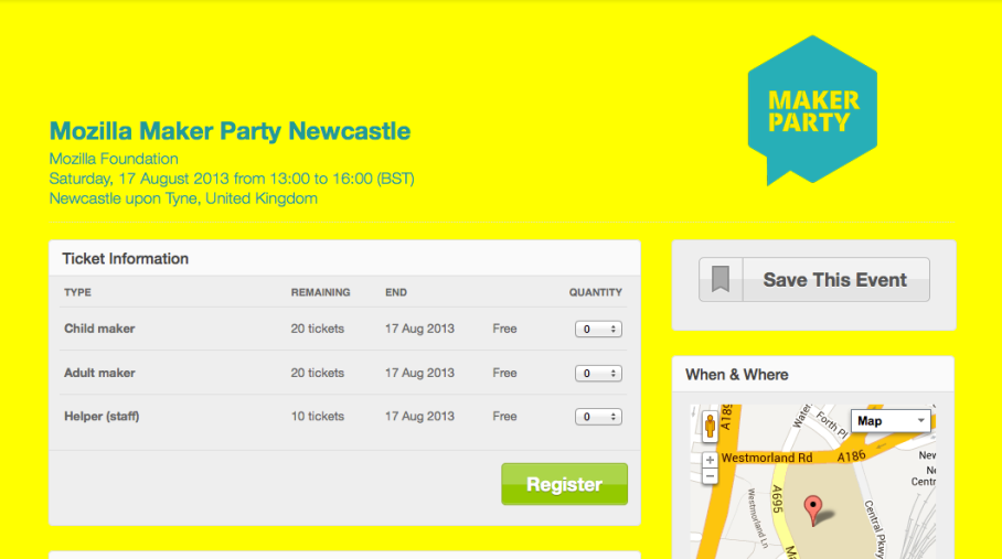 Maker Party Newcastle