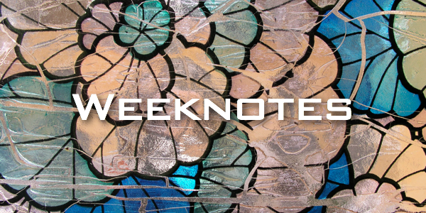 Weeknote 33/2013